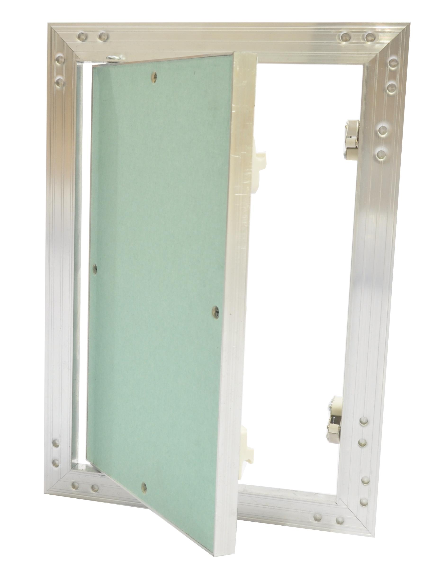 revisionsklappe viele gr en aluminium rahmen 12 5 mm t r gk einlage gipskarton ebay. Black Bedroom Furniture Sets. Home Design Ideas